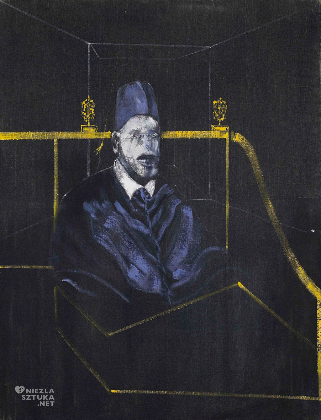 Francis Bacon, Studium do portretu, portret, Minneapolis Institute of Art, niezła sztuka