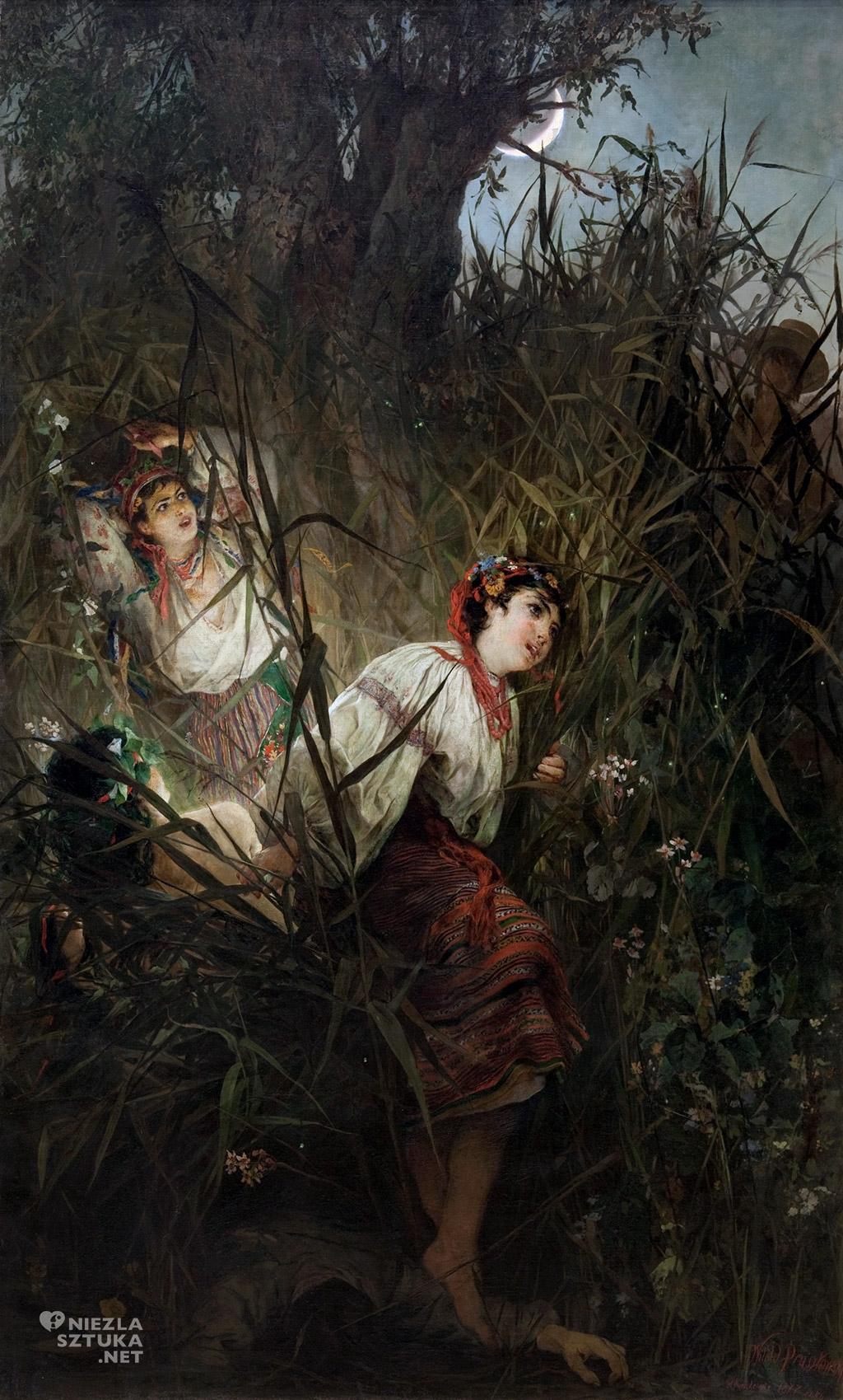 Witold Pruszkowski Rusałki | 1877, olej na płótnie, 250 × 161 cm, Muzeum Narodowe w Krakowie