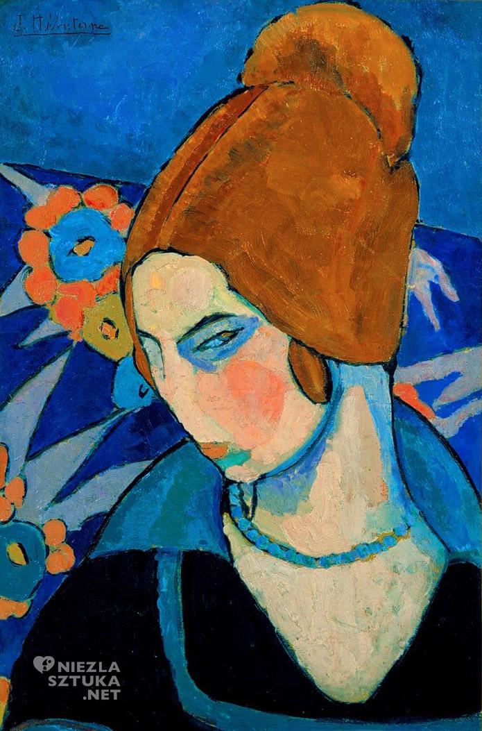 Jeanne Hébuterne, malarka, Amedeo Modigliani, żona, Autoportret, Niezła sztuka