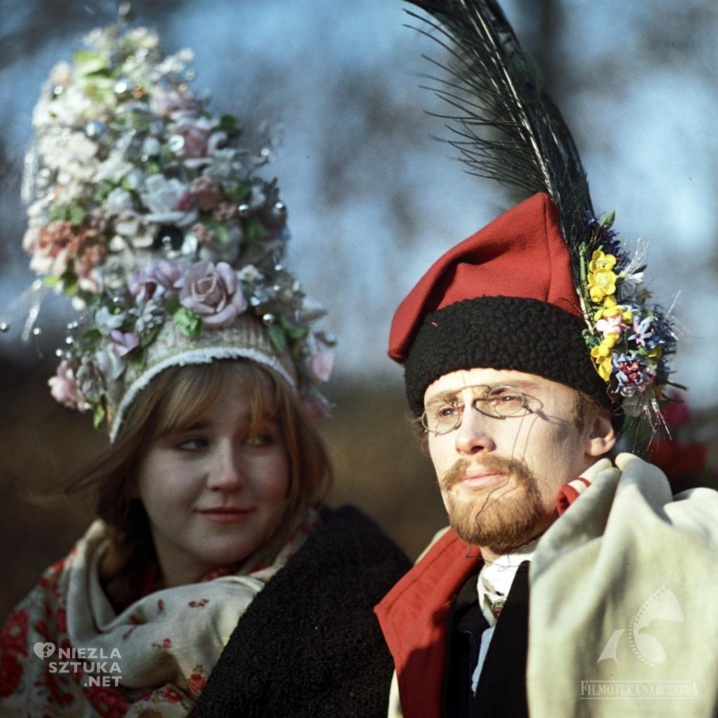 Kadr z filmu Wesele | 1972, reż. A. Wajda, fot.: Renata Pajchel, Fototeka Filmoteki Narodowej / fototeka.fn.org.pl