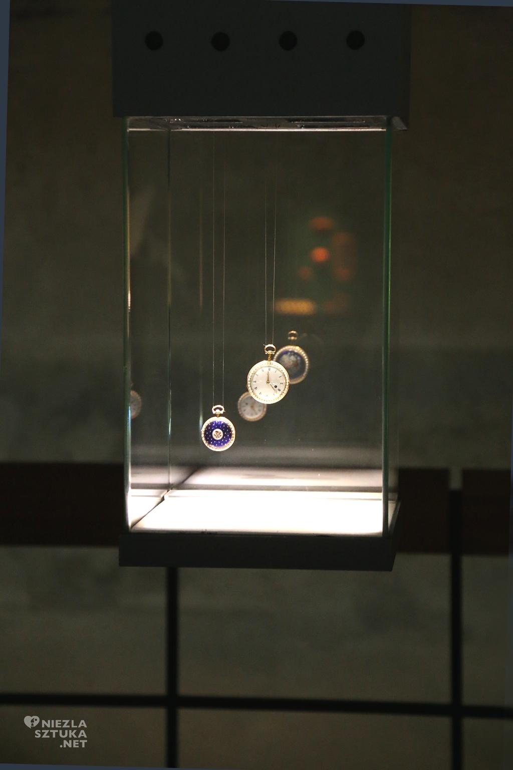 Austria, Salzburg, para zegarków kieszonkowych, Xaver Schwer. Materiały: srebro, granat, złocony mosiądz, emalia, skorupa żółwia