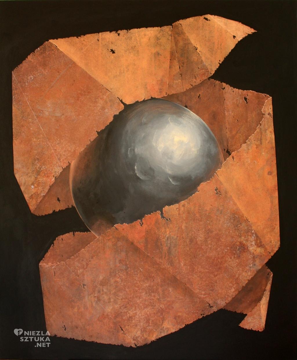 2015, 120x100cm, akryl na plotnie, Obierki