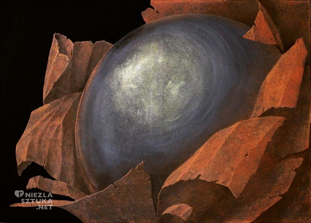 2015, akryl na płótnie, 50x70cm, Obierki A.M
