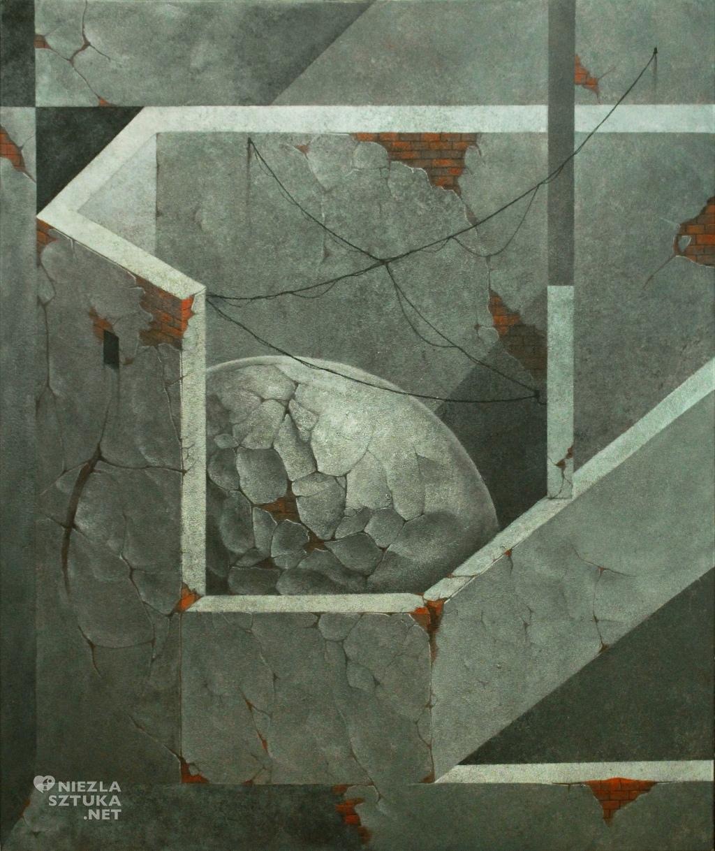 2016, 120x100cm, akryl na plotnie, Fiasko Cegla