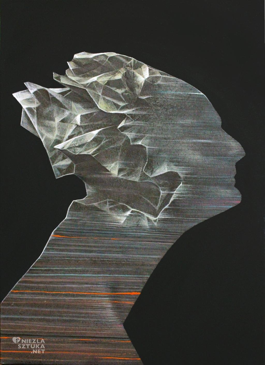 2016, 50x70cm, akryl na plotnie, A