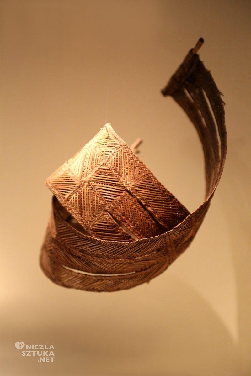 Nowa Gwinea, pasek. Materiały: naturalne włókna