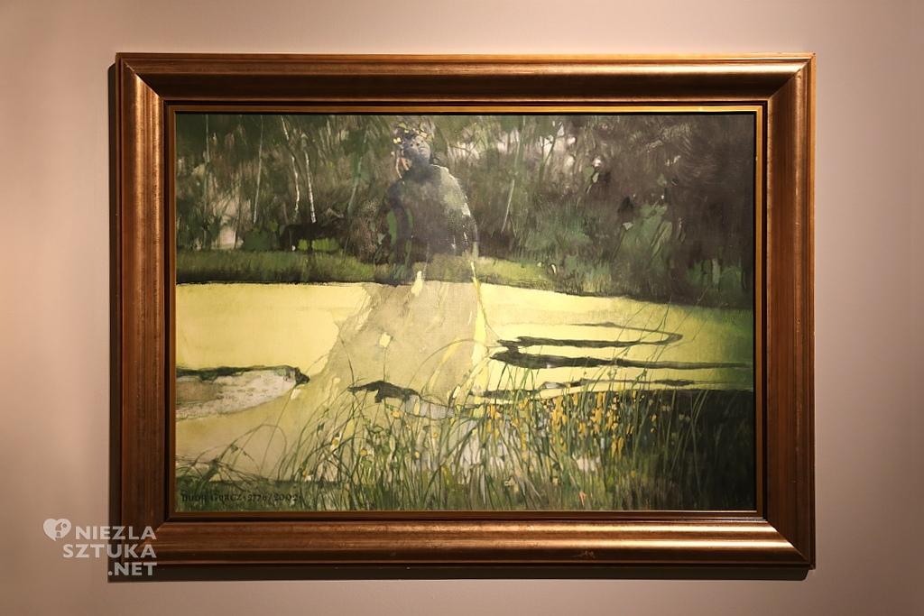 Obraz 2776 (Poturzyn – 11 mazurek nr 4 B-moll, op.24) | 2002, olej na płycie pilśniowej
