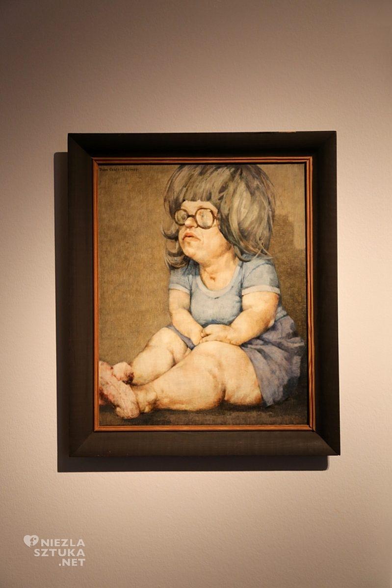 Obraz 528 (Portret Aśki) | 1981, olej na płycie pilśniowej