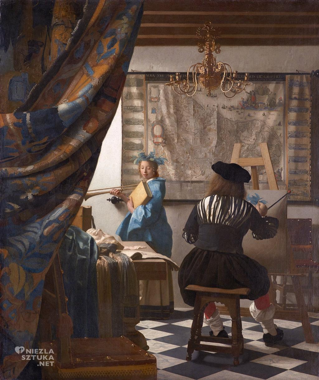 Johannes Vermeer, Alegoria malarstwa, Kunsthistorische Museum, Wiedeń, Niezła sztuka