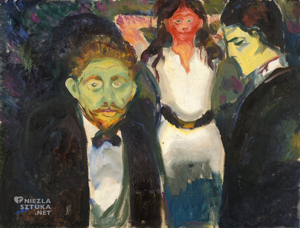 Edvard Munch Zazdrość