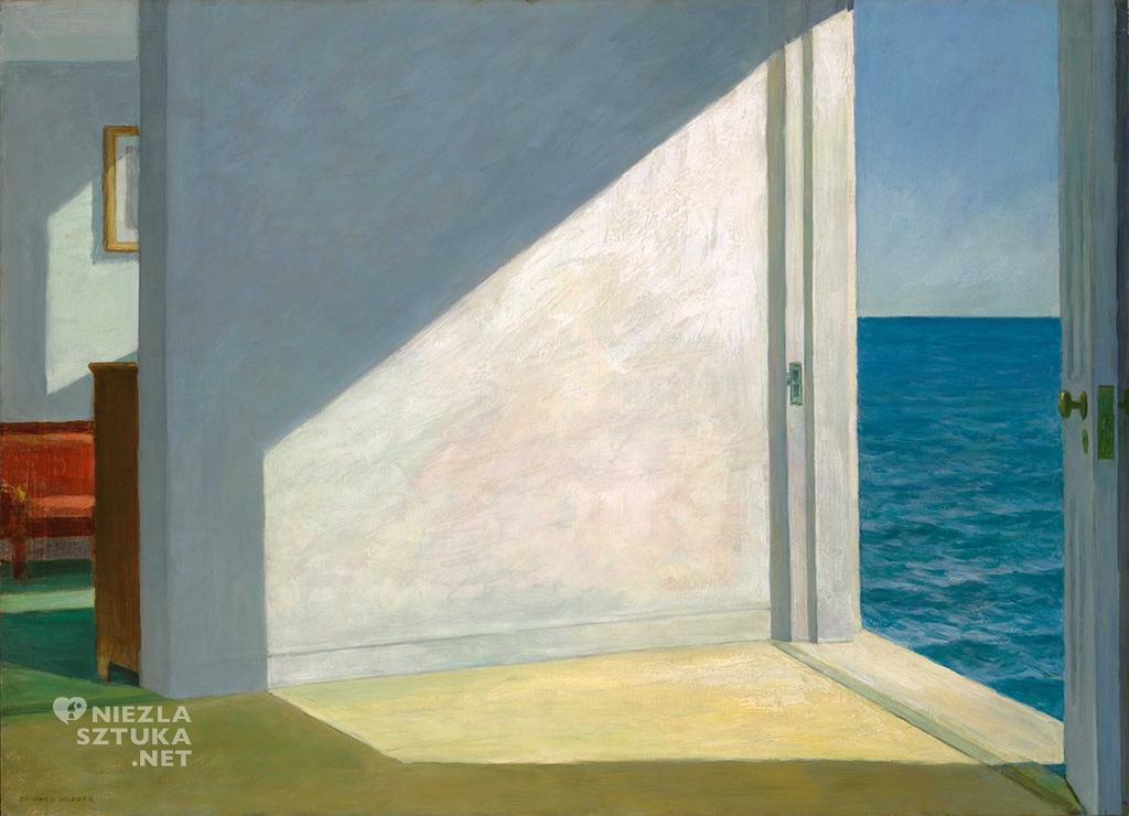 Edward Hopper Pokoje nad morzem