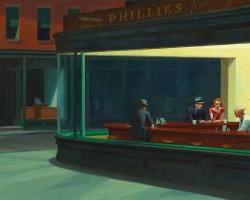 Edward Hopper, Nocne marki, Nocne jastrzębie, Niezła sztuka