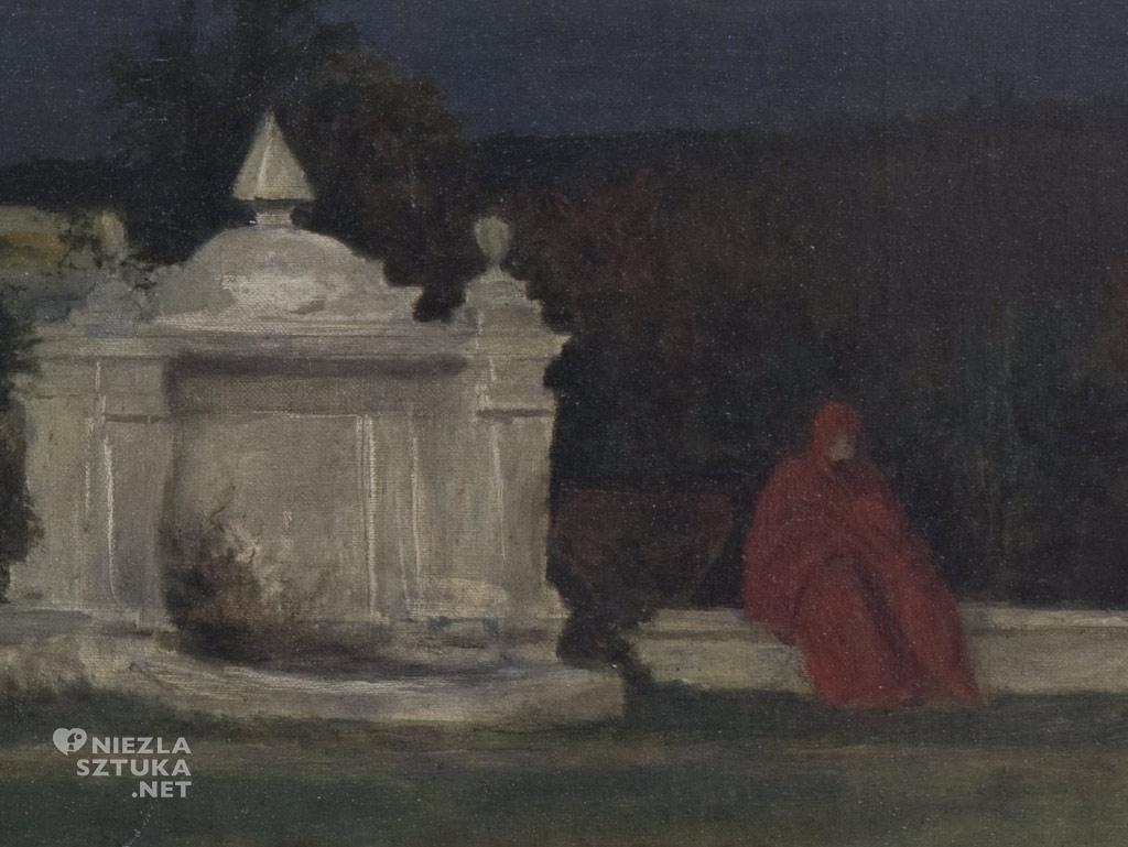 Chmielowski Szara godzina, detal | 1880, Muzeum Narodowe w Krakowie