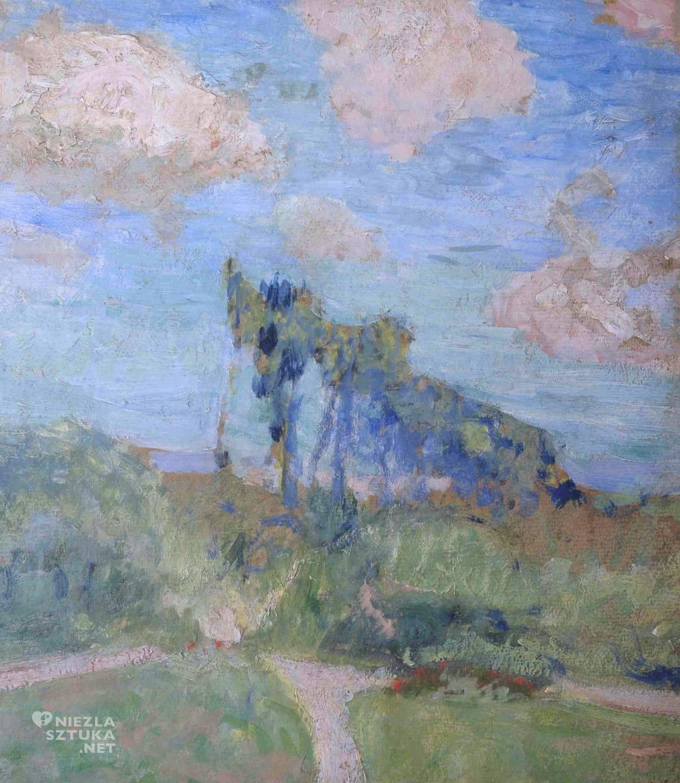 Édouard Vuillard Ogród w Amfreville   1905-07, Muzeum Narodowe w Gdańsku