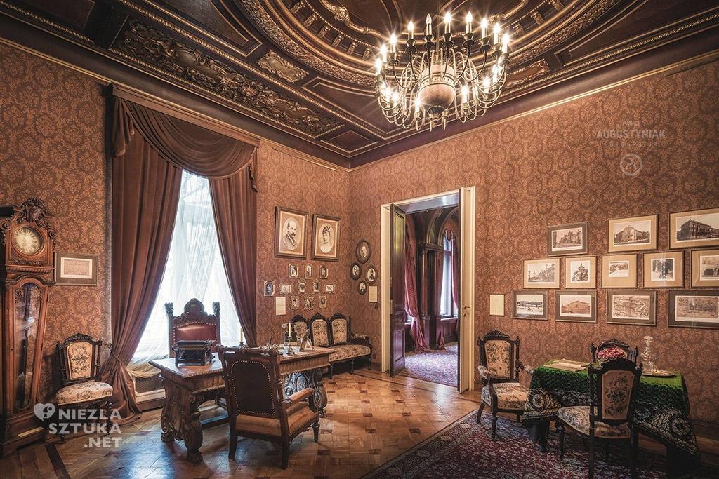 Pałac Poznańskiego - gabinet, fot.: © Paweł Augustyniak, www.pawelaugustyniak.pl, fb.com/pawelaugustyniakfotografia