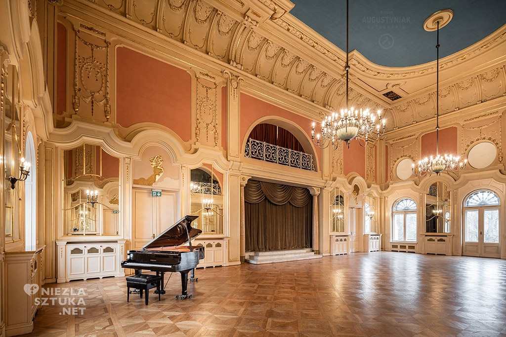 Pałac Poznańskiego - sala lustrzana, fot.: © Paweł Augustyniak, www.pawelaugustyniak.pl, fb.com/pawelaugustyniakfotografia