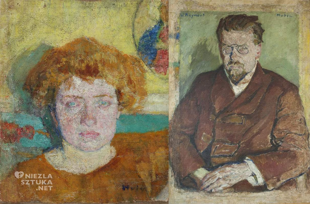 Mela Muter Portret Aurelii Reymont, Portret Władysława Reymonta | ok. 1907
