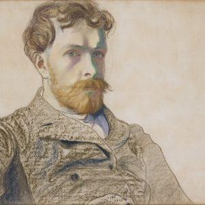 Stanisław Wyspiański, Autoportret, Kraków, polska sztuka, Niezła sztuka