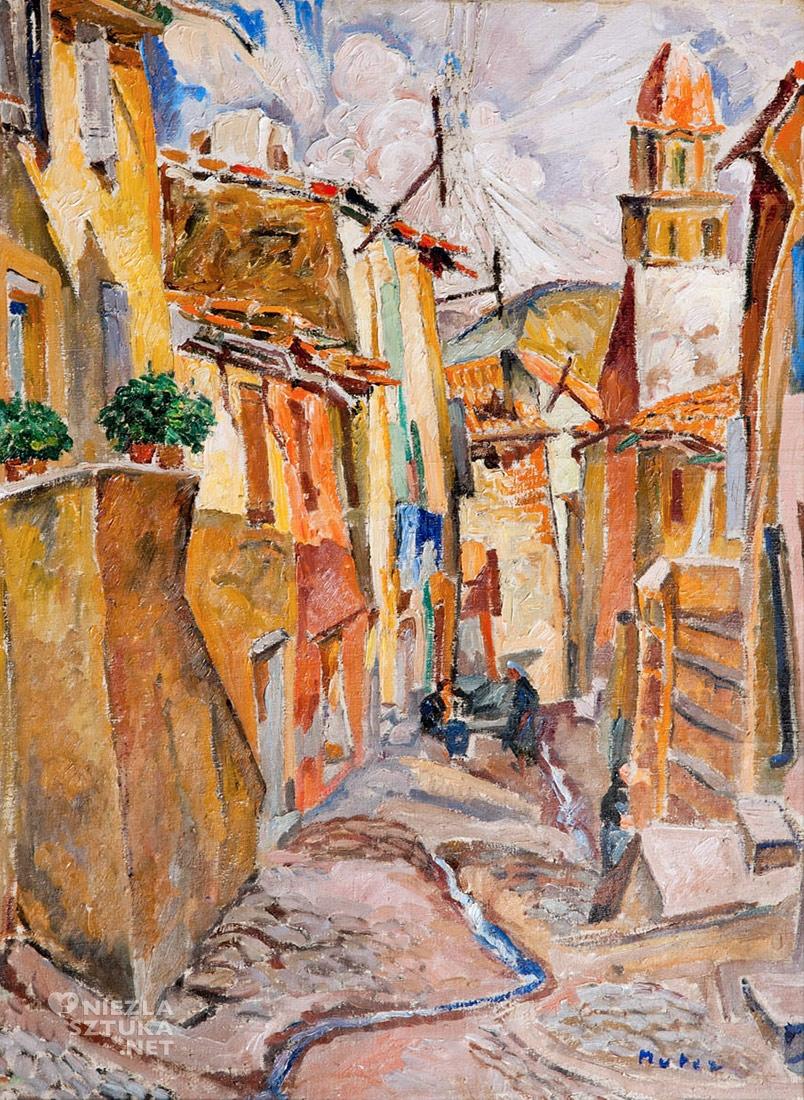 Mela Muter Collioure, | ok. 1925, 73,5 × 54 cm, olej/płótno Kolekcja Marka Roeflera / Villa la Fleur