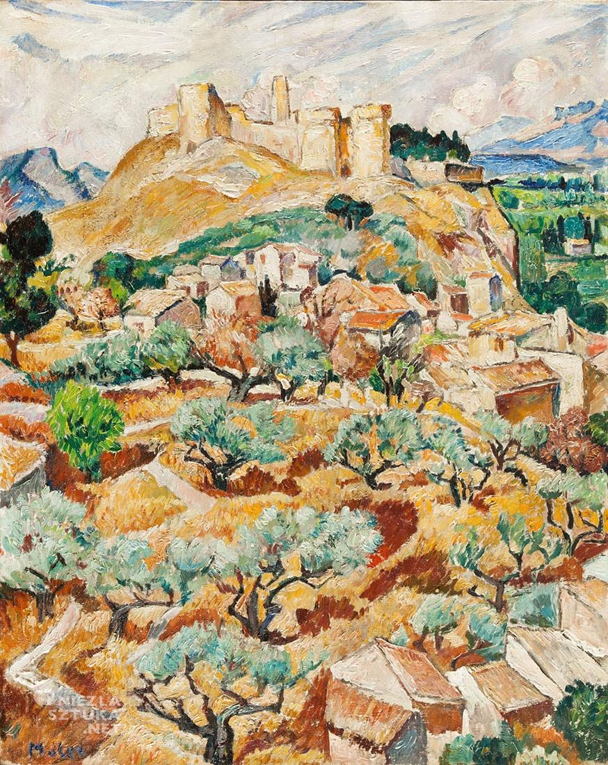 Mela Muter Fort Saint André w Villeneuve-lès-Avignon, 81,5 × 61,5 cm, olej/płótno Kolekcja Marka Roeflera / Villa la Fleur
