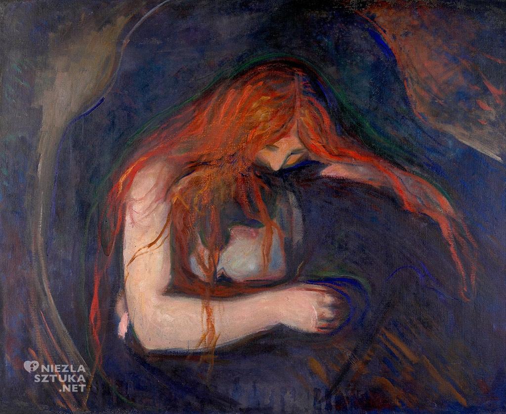 Edvard Munch, Tulla Larsen, Wampir, Munch Museum, Oslo, Niezła sztuka