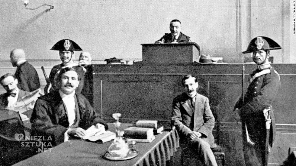 Vincenzo Peruggia na sali sądowej