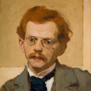 Józef Mehoffer, Autoportret, Niezła sztuka