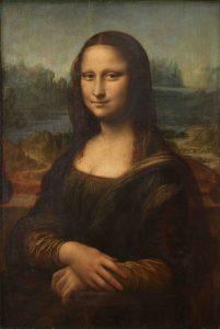 Leonardo da Vinci, Mona Lisa, slajd