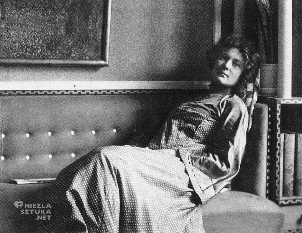 Sonja Knips, kobiety Klimta, Gustav Klimt, kobiety w sztuce, moda, Niezła Sztuka