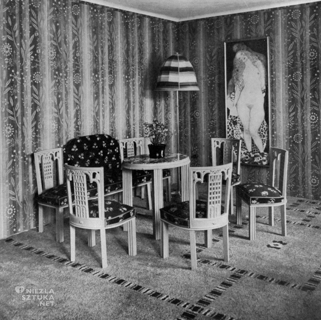 Villa Knips, Gustav Klimt, Adam i Ewa, Sonja Knips, Niezła Sztuka