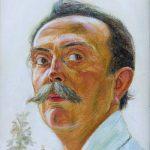 Wlastimil Hofman Autoportret, Muzeum Narodowe w Warszawie