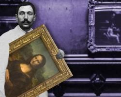 Vincenzo Peruggia, leonardo da vinci, mona lisa, mona liza, kradzież mona lisy, niezła sztuka