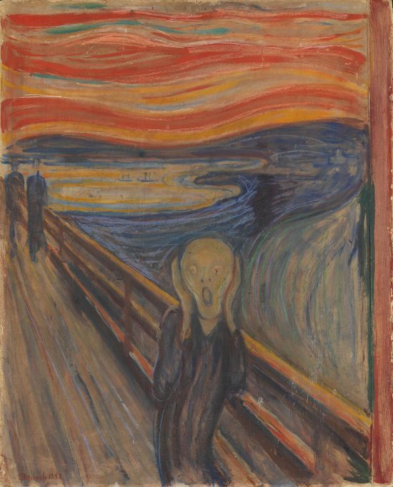 Edvard Munch, Krzyk, 1893