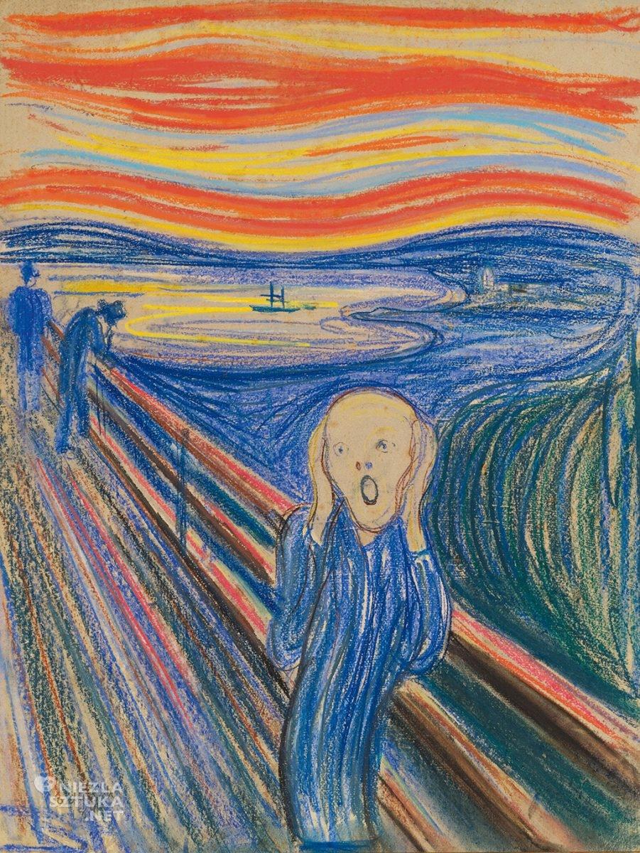 Edvard Munch, Krzyk, 1895