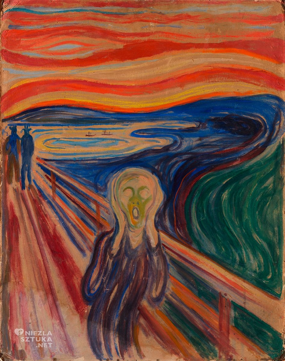 Edvard Munch, Krzyk, malarstwo, Niezła Sztuka