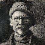 Leon Wyczółkowski, Autoportret, Muzeum Okręgowe w Bydgoszczy