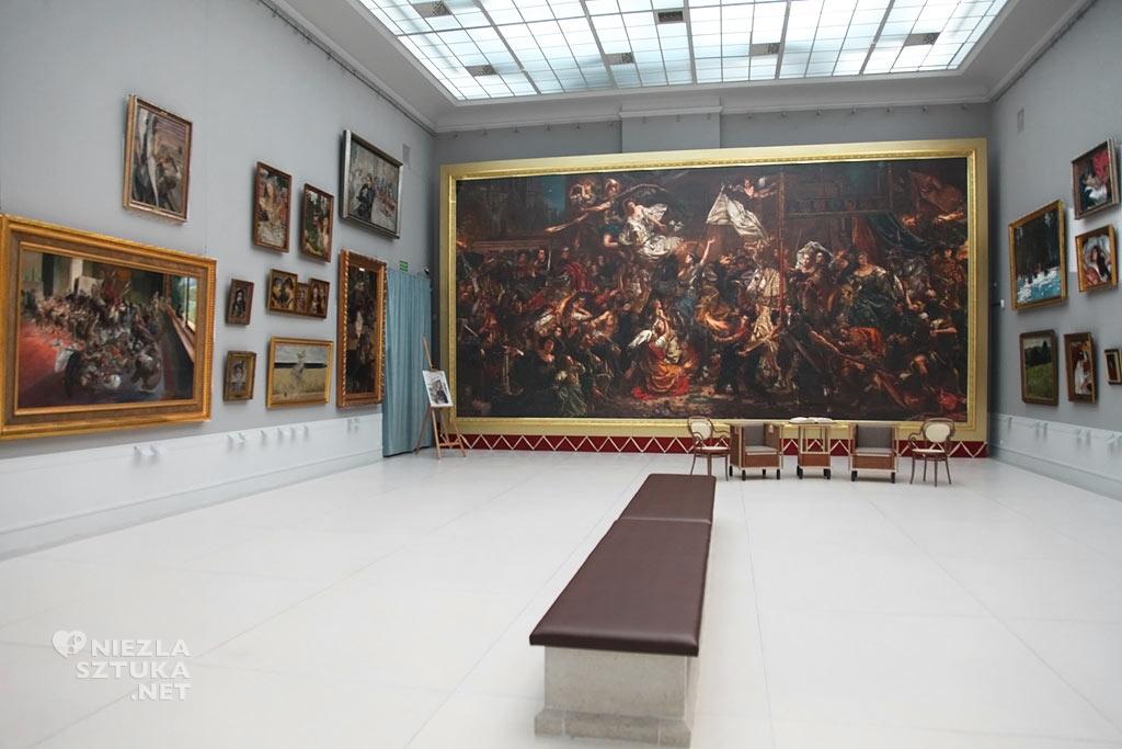 Jan Matejko, Joanna d'Arc, Dziewica Orleańska, sztuka polska, malarstwo polskie, Rogalin, Niezła sztuka
