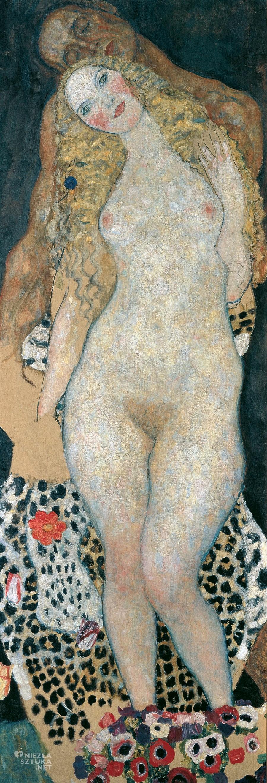 Gustav Klimt, Adam i Ewa, sztuka austriacka, Niezła Sztuka