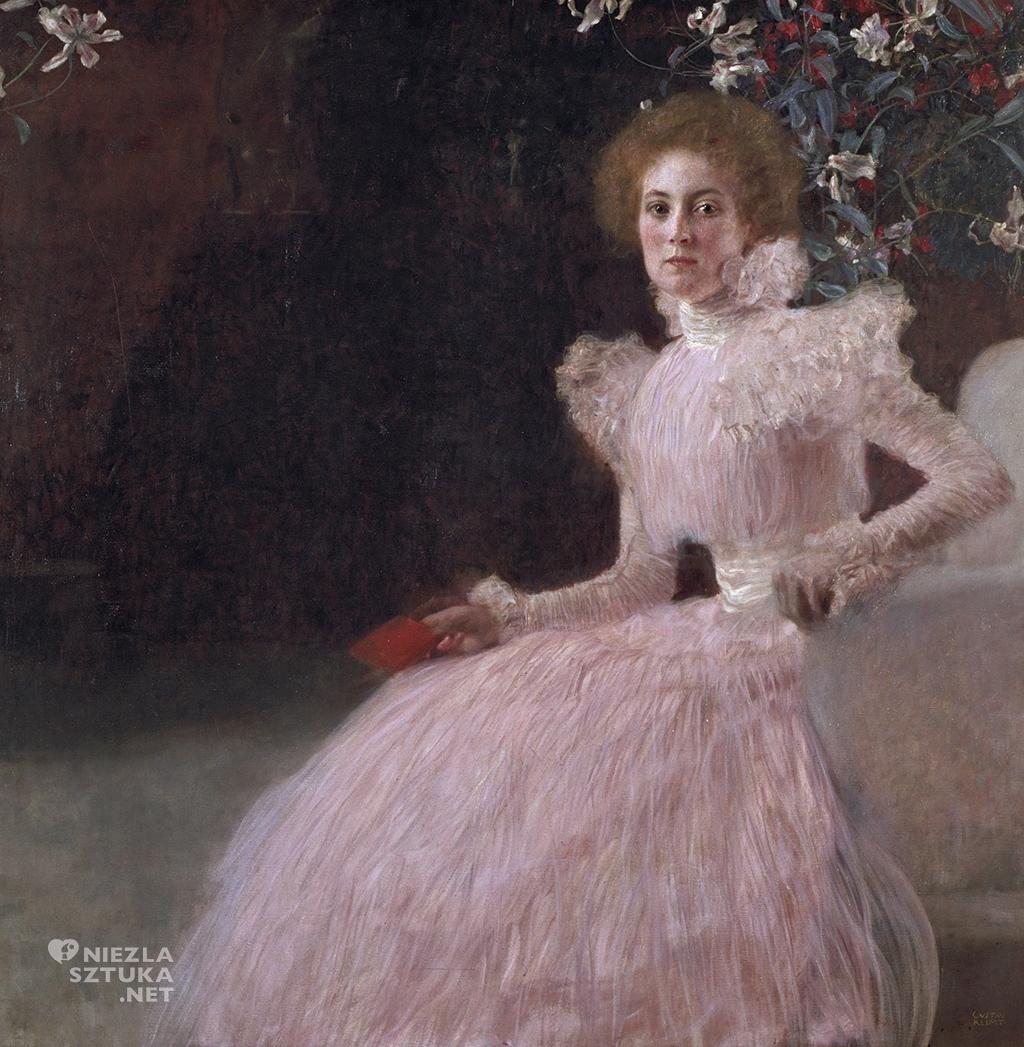 ustav Klimt, Sonja Knips, kobiety Klimta, kobiety w sztuce, portret, Niezła Sztuka