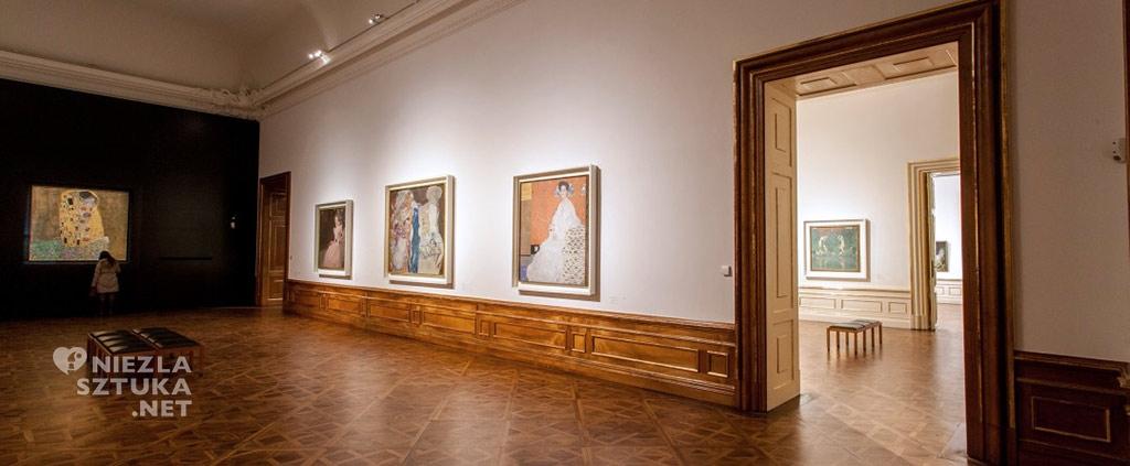 Gustav Klimt, Sonja Knips, Belweder, Wiedeń, muzeum, Niezła Sztuka