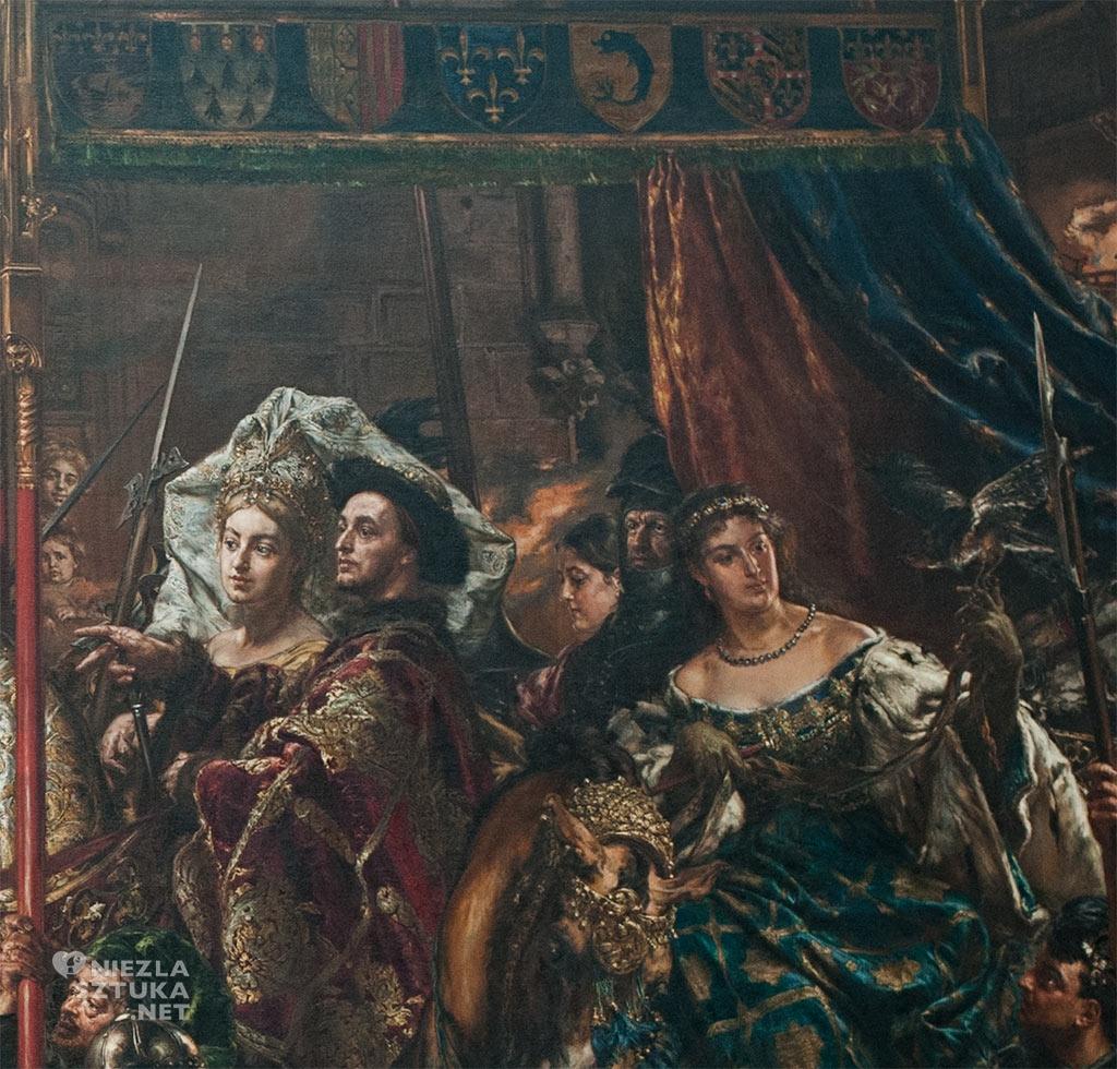 Jan Matejko, Joanna d'Arc, Dziewica Orleańska, sztuka polska, malarstwo polskie, Niezła sztuka