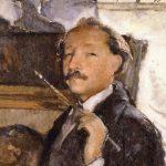 Wojciech Weiss autoportret