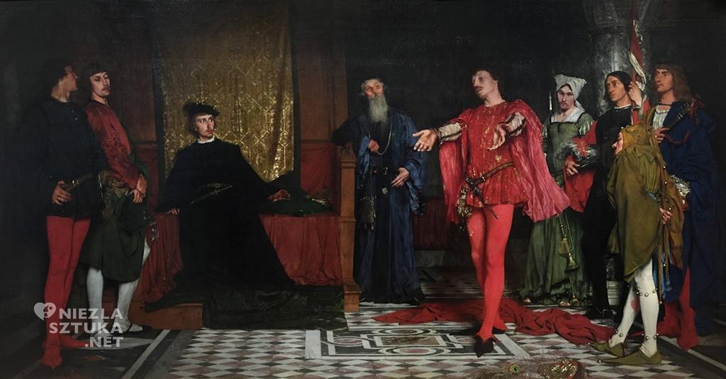 Władysław Czachórski, Aktorzy przed Hamletem, 1875, MNW