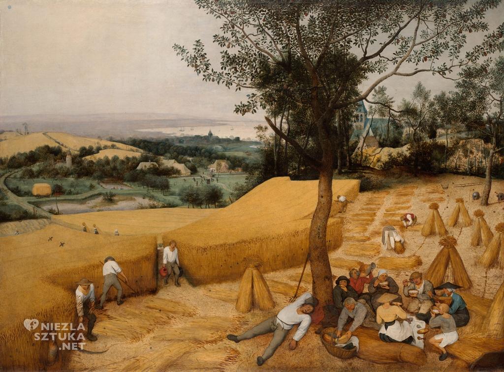Pieter Bruegel Starszy, Żniwa, Niezła sztuka