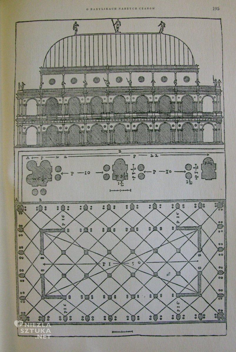 Andrea Palladio, Projekt rysunkowy gmachu Basilica Palladiana w Vicenzy