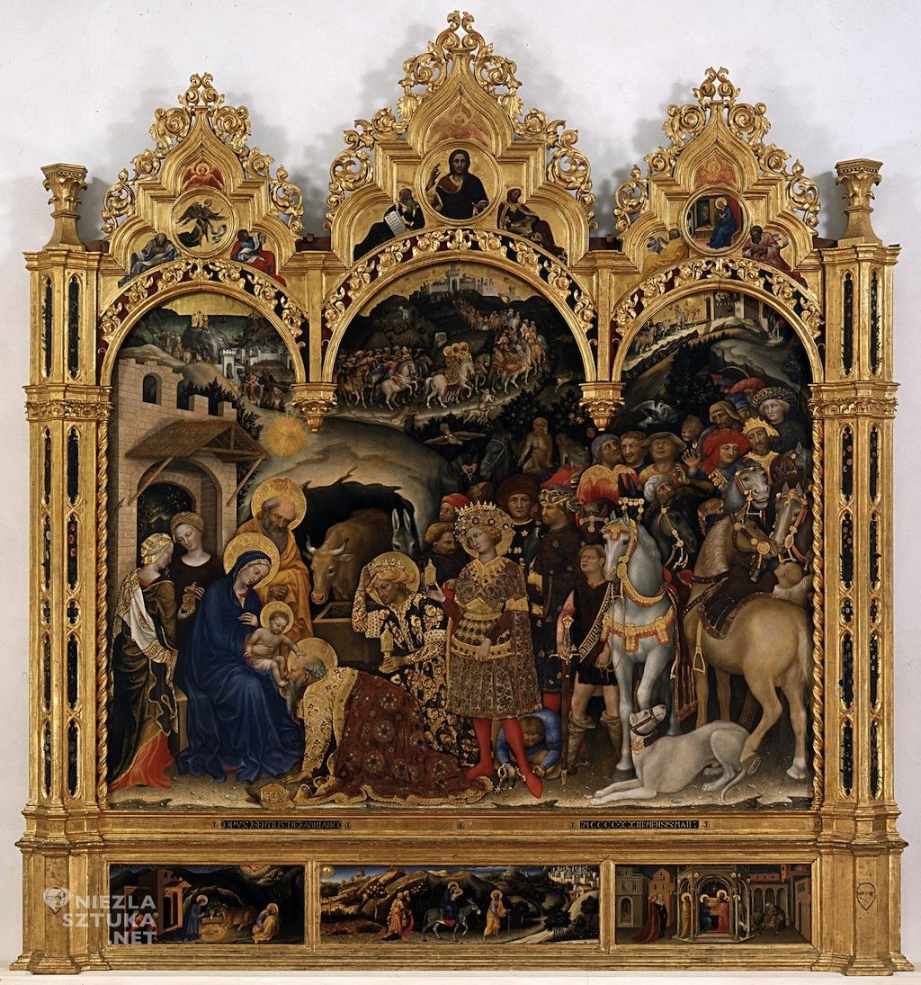 Gentile da Fabriano Pokłon Trzech Króli | 1423, Galeria Uffizi