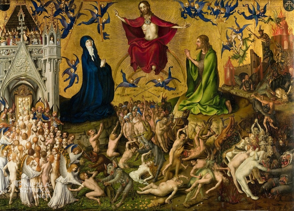 Stephan Lochner Sąd Ostateczny ǀ ok. 1435, Wallraf-Richartz-Museum & Fondation Corboud w Kolonii