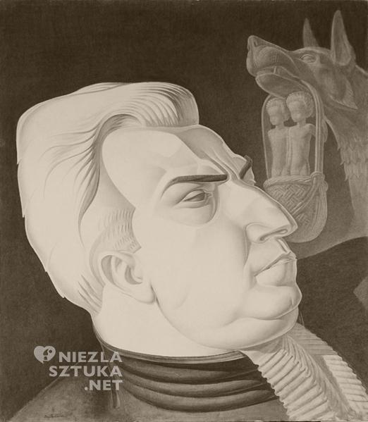 Portret adwokata, 1933, Laguna Art Museum