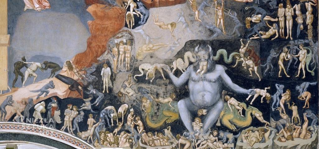Giotto di Bondone Sąd Ostateczny, detal ǀ ok. 1305