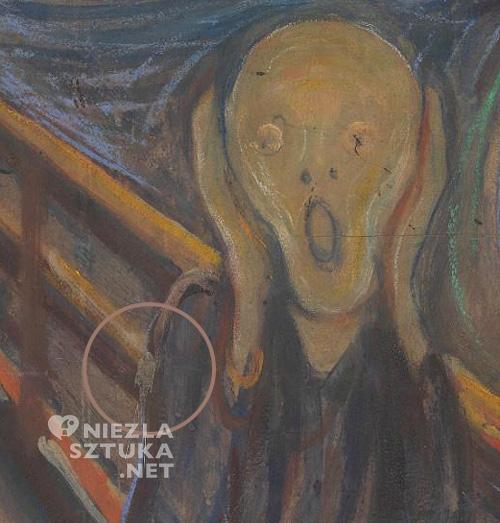 Edvard Munch, Krzyk, detal | 1893